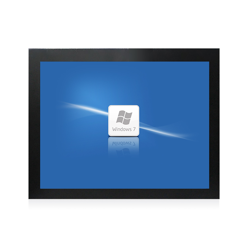 10.1 inch flat industrial resistive touch monitor--HOP101-8