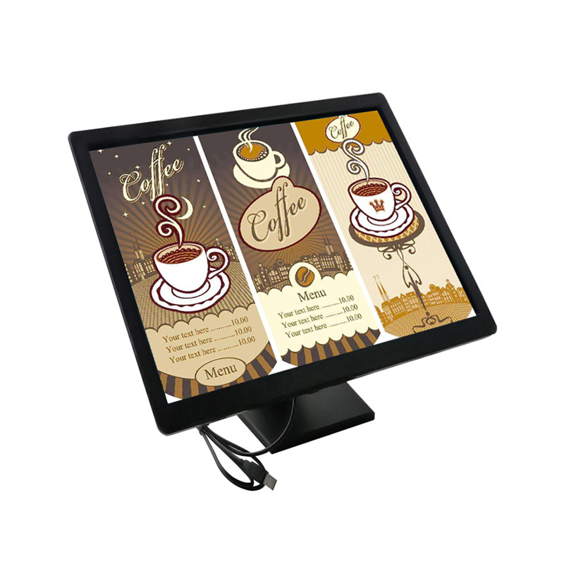 "19""Square Screen Resistive Touch Screen Monitor"