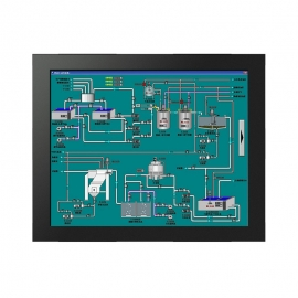 15 inch Embedded industrial touch monitor