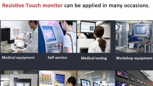 Analysis of the application of resistive touch screen monitor