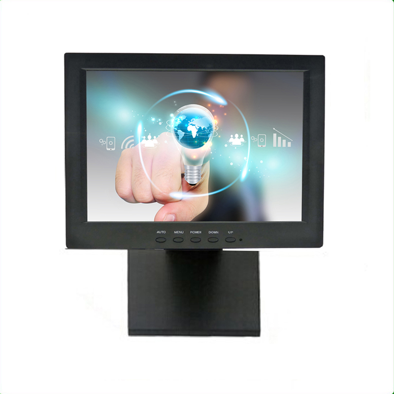 "12"" Resistive Touch Screen Monitor-1201MH"