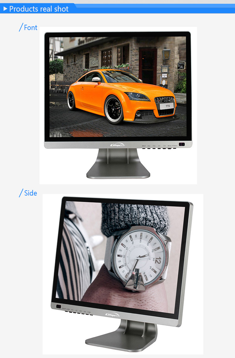 flat screen touch monitor