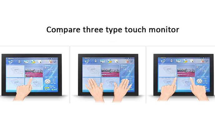 The differences between capacitive touch monitor and resistive touch monitor