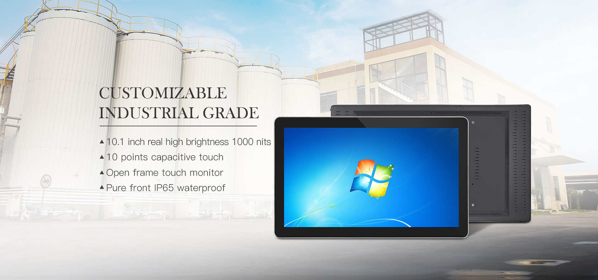 compacitive touch monitor