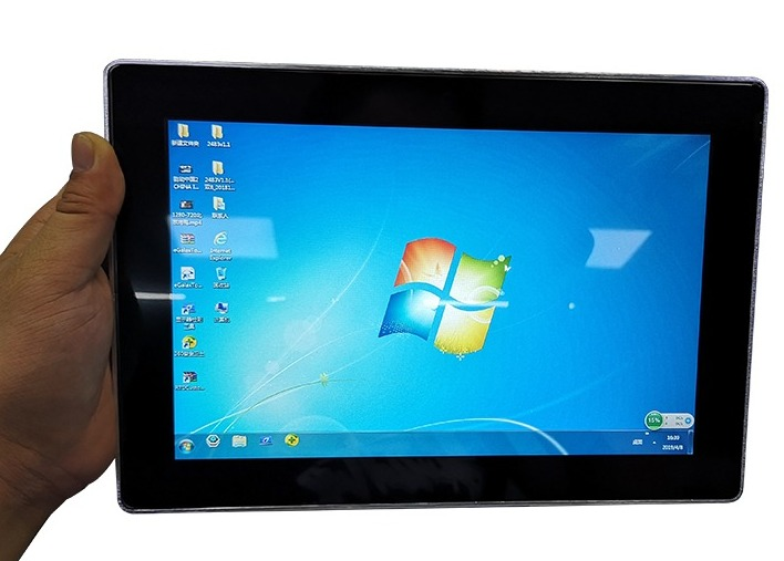 10 inch capacitive touch monitor with high brightness  1000 nits for parking